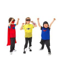 Chad Valley Superheros Dress Up Outfit.