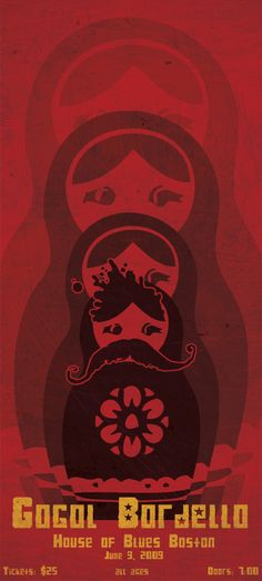 Gogol Bordello Poster by jchoui20