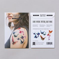 47 best temp tats business images on pinterest needle tatting image result for temporary tattoo business card colourmoves