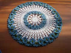 Ravelry: Pretty Flower Doily pattern by American Thread Company