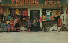 Shopped at this trading post...Fla. Seminole Indians