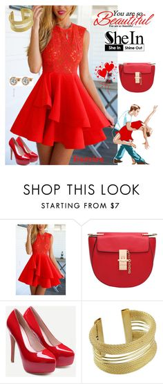 """""""1 SheIn"""" by kiveric-damira ❤ liked on Polyvore"""