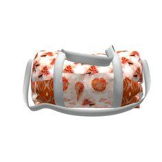Grainline Studio Portside Duffel Bag made with Spoonflower designs on Sprout Patterns. Diy Bags Purses, Duffel Bag, Seashells, Beautiful Bags, Bag Making, Spoonflower, Gym Bag, Sew, Watercolor