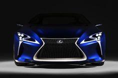 Lexus LF-LC Blue Concept - Car Body Design