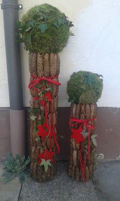 Zapfensäulen Planter Pots