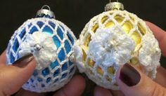 Crochet Geek : How to Make a Thread Crochet Holiday Lace Ornament by Crochet Geek