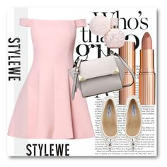 """""""StyleWe!"""" by dianagrigoryan ❤ liked on Polyvore featuring Charlotte Tilbury and Jimmy Choo"""