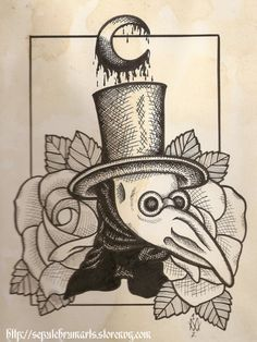 The Plague Doctor -- tattoo idea