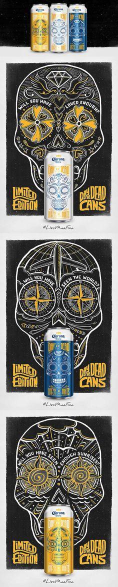 Corona Day of the dead #cans #taninotanino #vinosmaximum