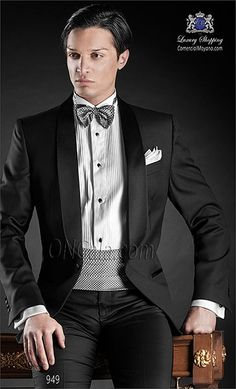 Traje de novio negro 949 ONGala Wedding suit