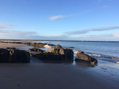 Seahouses Bay, Northumberland, UK