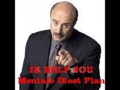 Het Mentale Dieet Plan = IK HELP JOU AFVALLEN = Mentale Dieet Plan Recepten Boek