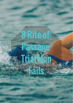 You learn how tough you can be when training for a triathlon, but racing a tri can teach you even more important lessons: how to take things in stride and even crack a smile when things aren't going your way. Find comedic relief in the fact that every triathlete has made at least a few of the following mishaps during competition. 8 Rite-of-Passage Triathlon Fails http://www.active.com/triathlon/articles/8-rite-of-passage-triathlon-fails?cmp=17N-PB33-S33-T1-D6--1109