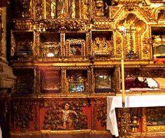 La Capilla del Santo Cristo de las reliquias en la Catedral metropolitana de la Cd. de México