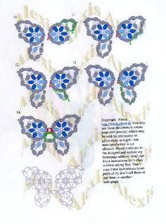 3D Beaded Butterfly | 3d butterfly free pattern