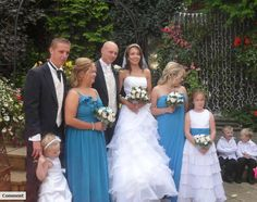 Flowers for all the bridal party... by Emma Hall Designs