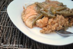 Slow Cooker Chicken & Stuffing (Can also use leftover Turkey)