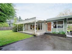 Mid-Century Modern - North Vancouver Fraser Valley, North Vancouver, Real Estate Services, Architects, Mid-century Modern, Mid Century, Outdoor Decor, Home, Ad Home