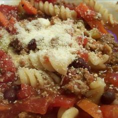 Olive Garden Pasta E Fagioli Soup in a Crock Pot (Copycat)...tried this...next time I would add less pasta or more beef stock.