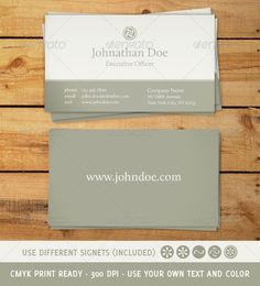 Classic and Elegant Business Card