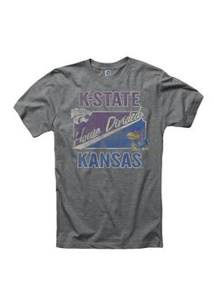 House Divided T-Shirt - Mens Grey Kansas/K-State T-Shirt http://www.rallyhouse.com/shop/kansas-jayhawks-new-agenda-house-divided-tshirt-mens-grey-kansaskstate-tshirt-22785516 $19.99