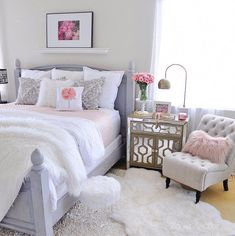 Pretty Bedroom Ideas For Home Design – Home Decor Ideas Dream Rooms, Dream Bedroom, Home Decor Bedroom, Girls Bedroom, Bedroom Furniture, Home Furniture, Bedroom Ideas, Furniture Shopping, Cheap Furniture