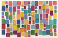 120 Plaster Surrogates by Allan McCollum