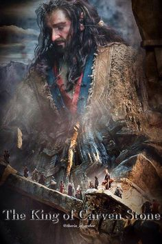The King beneath the mountains, The King of carven stone, The lord of silver fountains Shall come into his own!