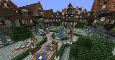 minecraft medieval village blueprints Minecraft Town Square Blueprints minecraft medieva Minecraft medieval village Minecraft medieval Minecraft architecture