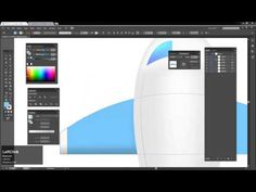 Speed art - airplane (mesh) in Adobe Illustrator (#26) - YouTube