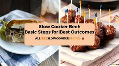 Slow Cooker Beef: Basic Steps for Best Outcomes | Try some of our tips to make your beef recipes delicious!