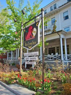 Spring is a wonderful season in Stockbridge and at The Red Lion Inn. The Berkshires.