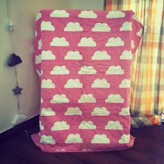 #Sleep Zone – #Warm, #Fun #Soft #reversible #Pink #Quilt & #Owl #Cushion #Baby #Kids #Babygirl #toys #India #moms #cotton #comfortable