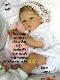 Afrikaanse Quotes, Goeie Nag, Special Quotes, Sleep Tight, Morning Greeting, Strong Quotes, Good Night, Words, Fun