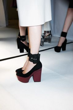 celine. must have now. major shoe shopping binge is imminent...