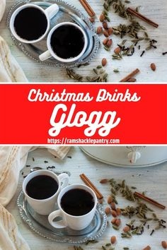 This is an easy traditional Glogg Recipe that is popular in Norway, Sweden, and Denmark. It is an amped-up crockpot mulled wine recipe meant to appease the Scandinavian in you. #holidaydrink