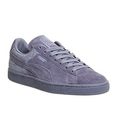 Puma Suede Classic Tempest Grey Emboss - Unisex Sports