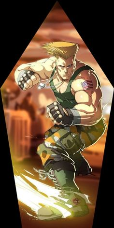 Street Fighter Guile, Super Street Fighter, Street Fighter Wallpaper, Street Fighter Characters, King Of Fighters, Video Game Characters, Fighting Games, Anime, Cartoon Styles