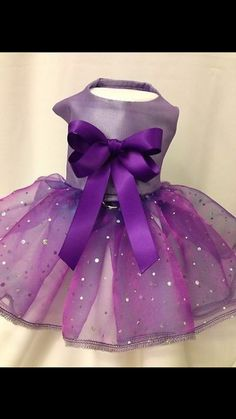 Special Occasion Purple dog dress Pet by MySpoiledPrincess, $45.00