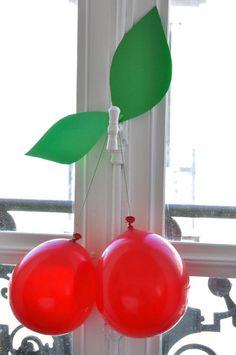 Вишня из шариков