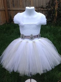 Star Wars Inspired Princess Leia Tutu by NeverlandDesignsShop