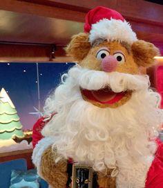 Fozzy as Santa