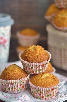 Coconut Recipes, Afternoon Snacks, Dessert Recipes, Desserts, Sin Gluten, Sweet Recipes, Tea Time, Muffins, Almond