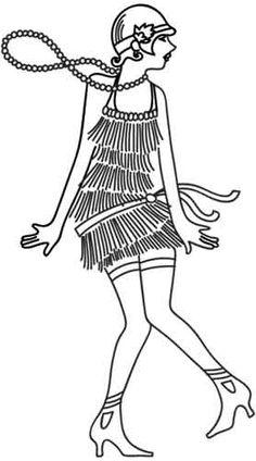 Flapper design (UTH2022) from UrbanThreads.com