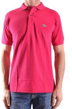 8c8b5aab4aa Lacoste Lacoste Men s Fuchsia Cotton Polo Shirt