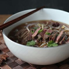 Fast pho - the taste of Vietnam, aromatic, slinky and delicious