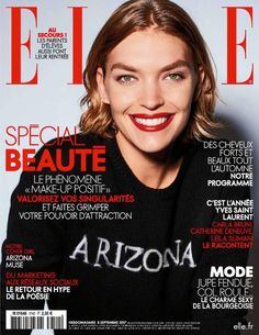 Top model Arizona Muse lands the September 8th, 2017 cover of ELLE France. Photographed by Liz Collins, the brunette wears a custom sweater from her collaboration with Majestic Filatures. For the accompanying spread, Arizona charms in fashions that balance the line between sensual and sophisticated. Stylist Diane Boulenger dresses the American beauty in designs from...[Read More]