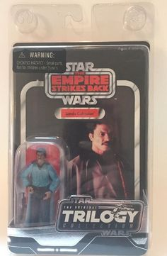 Star Wars Vintage Original Trilogy Collection ESB Lando Calrissian VOTC   eBay