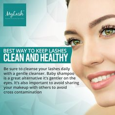 Face Cleaning, Baby Shampoo, Clean Face, Level 3, Eyelash Extensions, Makeup Yourself, Eyelashes, Tips