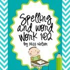 ******Best Seller******REVISED for 10-20 spelling wordsReady to add some fun to your word work or spelling center